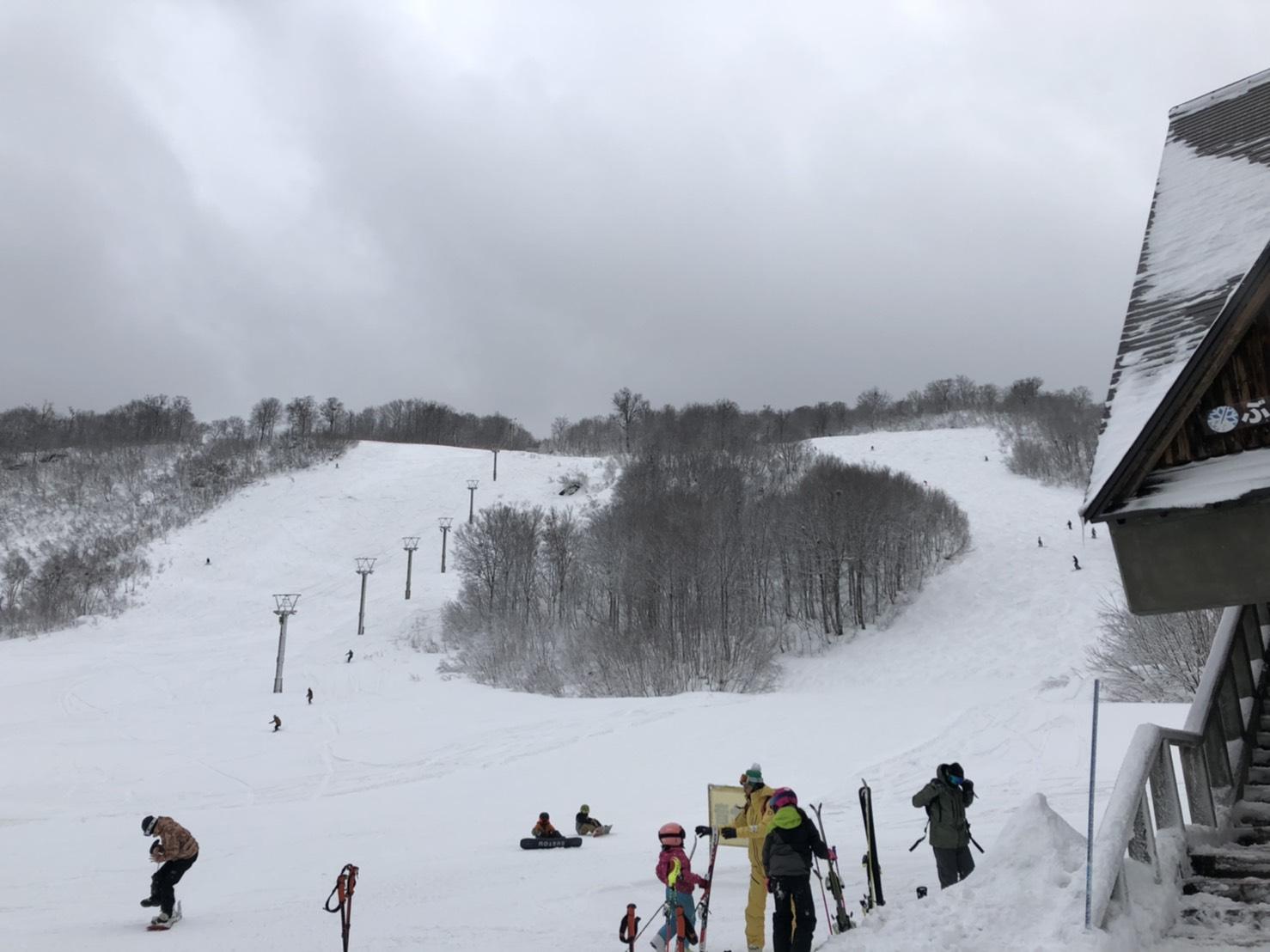 スキー練習 in奥只見丸山スキー場
