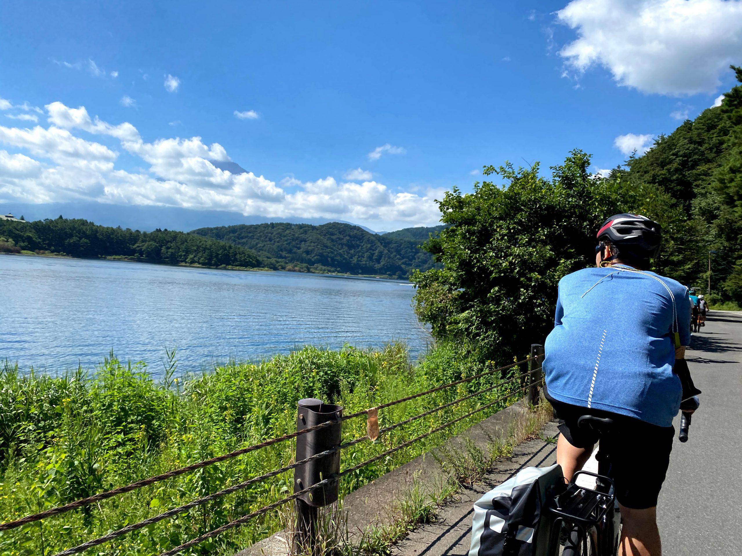 2020/8/14 富士山自転車w-ing